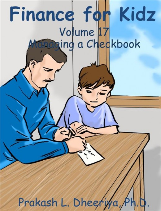 Finance For Kidz: Volume 17: Managing a Checkbook
