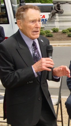 Jack LaLane in 2007 at age 93.