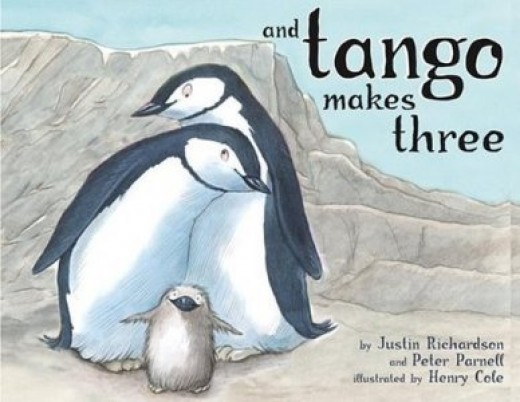 A children's book about penguins causes a big stir