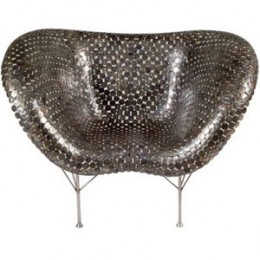 A Sexy Chair Made From Coins
