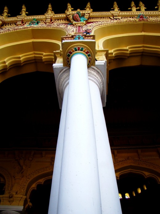 The massive pillar