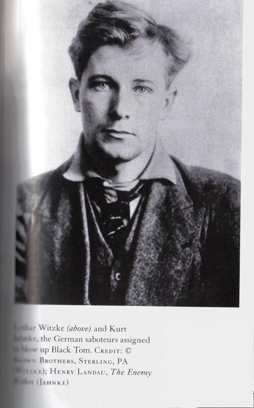 Photo of Lothar from the book:  The Detonators
