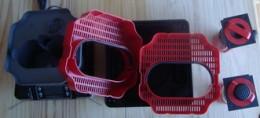 Fluval-G3 Biological Baskets Removed
