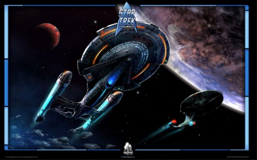 To boldly go where no online game has gone before...