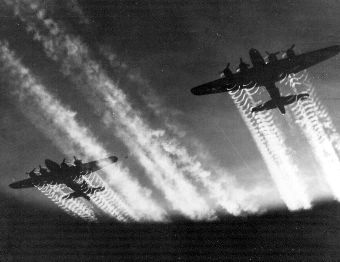 B-17s in the 1940s (US Air Force file photo).