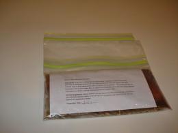 Store soup flat in the freezer. Insert instructions between ziplock bags.