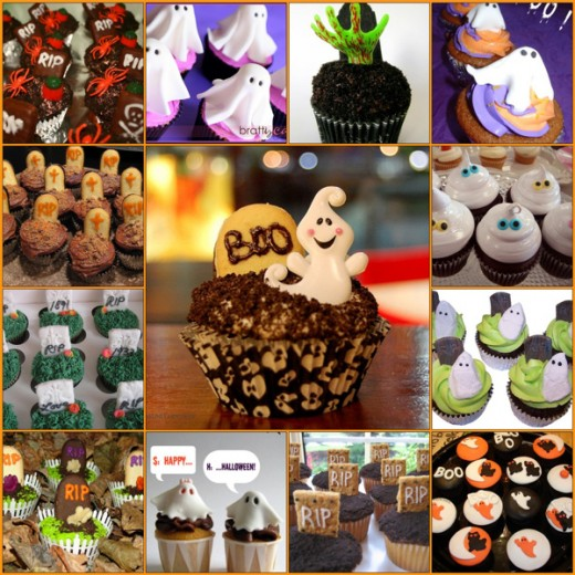 Halloween Cupcakes from Flickr's DessertLover2010