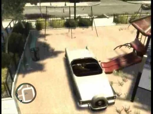 The greatest glitch in Grand Theft Auto 4 - The swingset glitch!