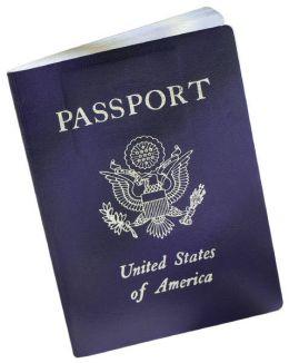 Поддельный американский паспорт.  Никто не знает, причем он тут.
