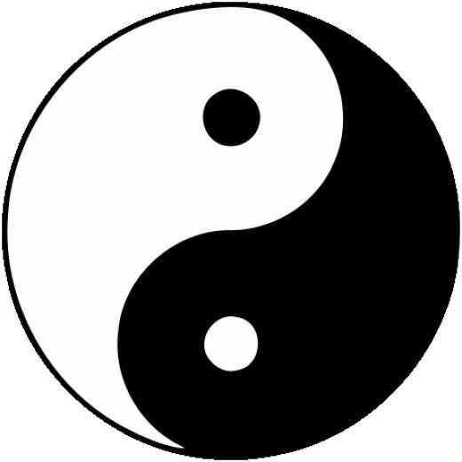 Yin-Yang one part leads to another - The Ontological Argument
