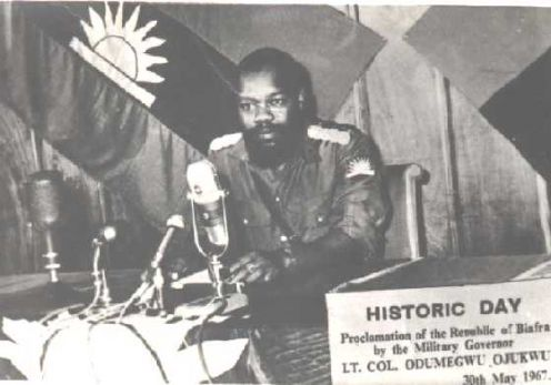 """Chukwuemeka Odumegwu Ojukwu"".One thing about him that i believe"