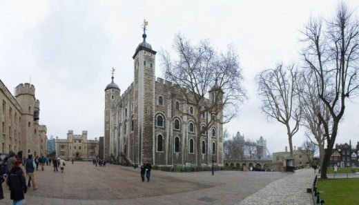 The White Tower and courtyard
