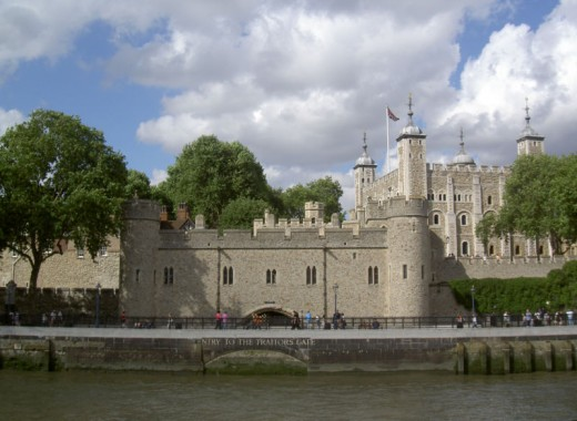 The Traitor's Gate can be reached from the River Thames.