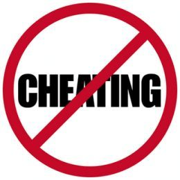 Don't stay with a cheater!