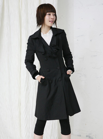 Leather Coat  photo by dressky.com