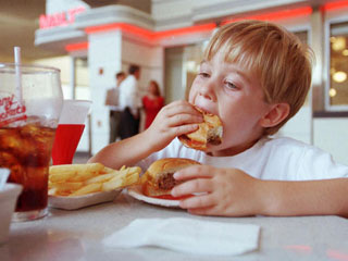 foods for children with or without ADHD is the same -- avoid junk foods is a general rule for all children