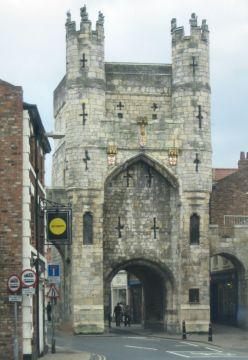 'Gate' - York. Copyright Tricia Mason