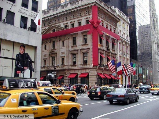 Fifth Avenue shopping - Cartier Store