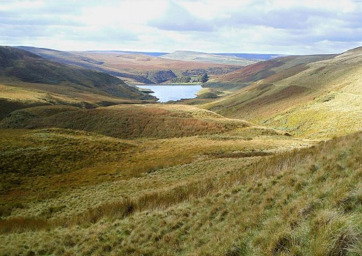 The secluded beauty of the Pennine hills. Photograph courtesy G-man.