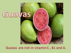 Information about Guavas