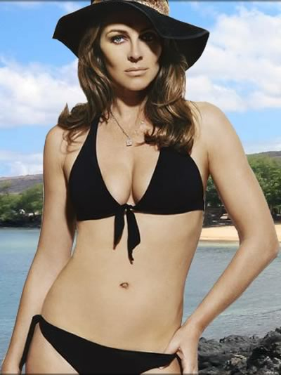 Elizabeth Hurley - always looks good!