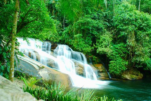 Paraty waterfall - Courtesy by flickr.com/photos/mark_i_geo/4159628993