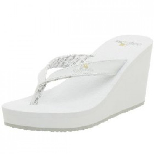 Cobian Wedge Thong Sandals