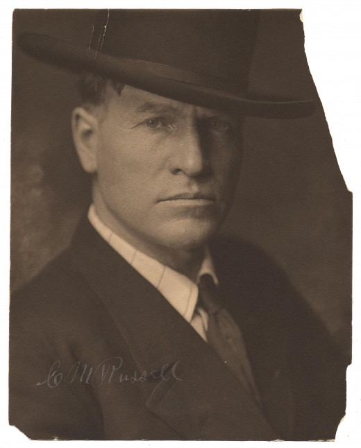 CHARLES MARION RUSSELL IN 1900
