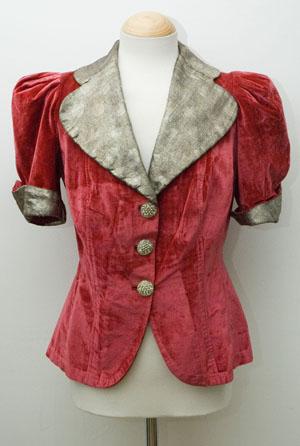 vintage 30's Velvet Deco Jacket