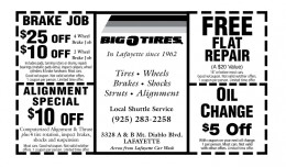 Tire Coupons on Big O Tires Coupons