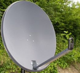 a satellite dish