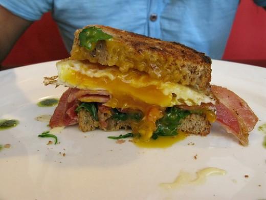 Bacon and Egg Sandwich by Allerina & Glen MacLarty