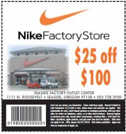 Nike store promo coupons