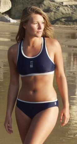 A great looking, athletic bikini body
