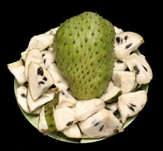 graviola or guyabano fruit