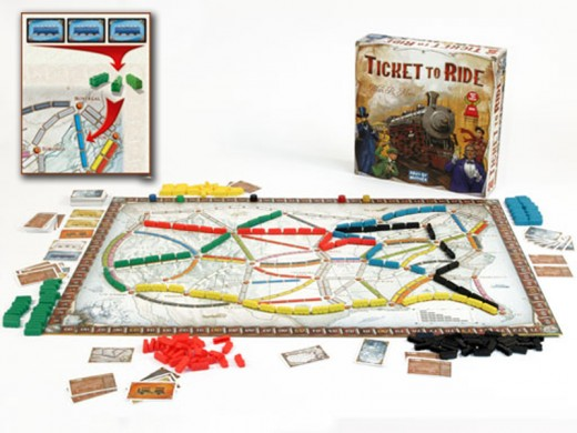 Ticket to Ride by Mayfair Games