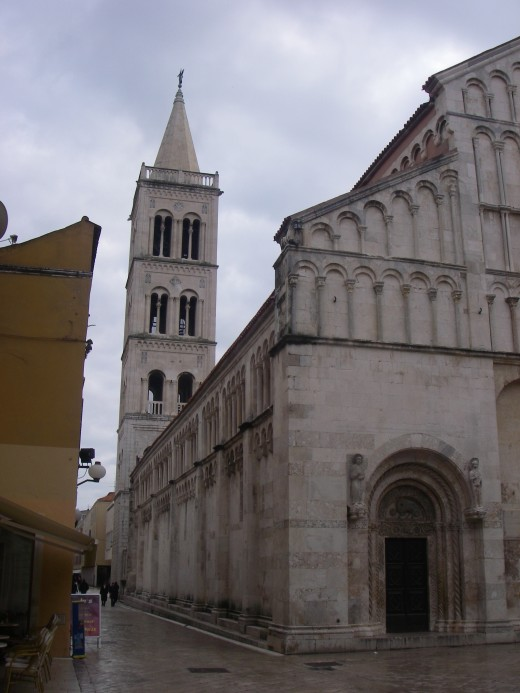 Church in the Zadar city centre.