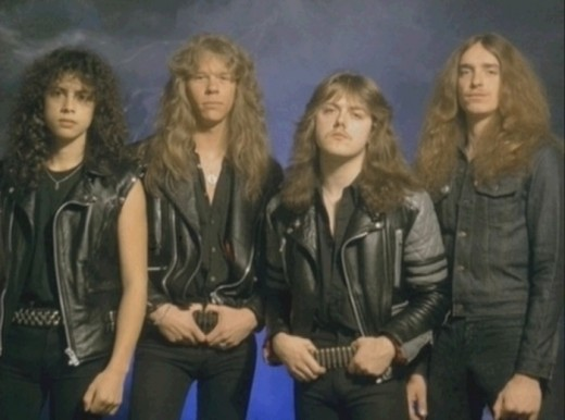 Metallica hairstyles