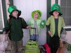 I Don't Like To Be Pinched On St. Patrick's Day! (And a History of The Pinching)