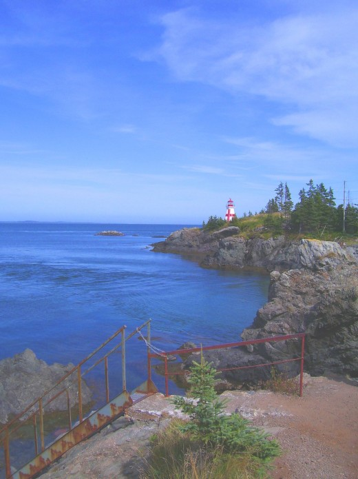 Original East Quoddy shot of the lighthouse.