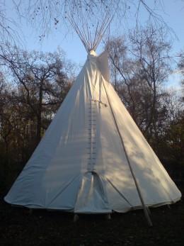 While some call a teepee home