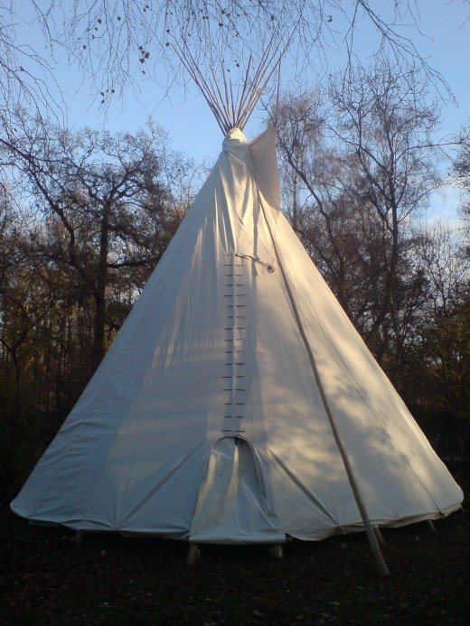 While some call a teepee home