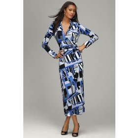 Ankle length wrap dresses for petite women