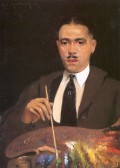 ARCHIBALD MOTLEY SELF PORTRAIT (1920)