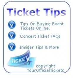 E Tickets For Concerts and Events