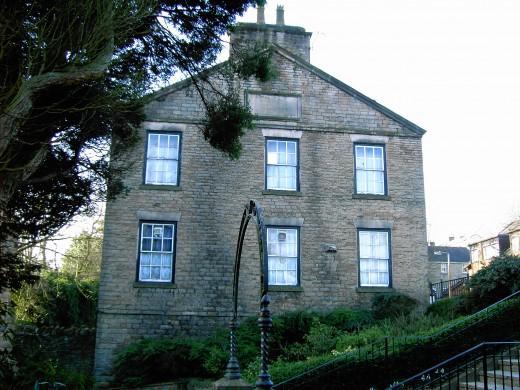 The old Priory house is now the Conservative Club.