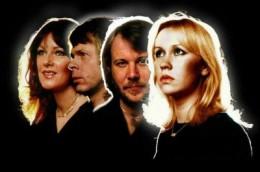 Left to right Frida,Bjorn,Benny,Agnetha