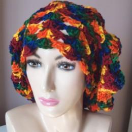 hat + Blend + hippie tam + rasta tam + free crochet tam pattern