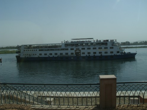 The MS Saray on the Nile