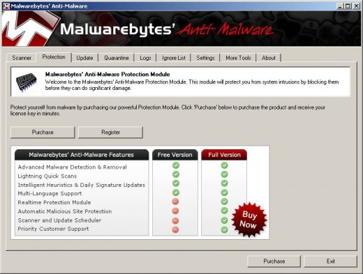 Free version of Malwarebytes' Anti-Malware doesn't run in Realtime